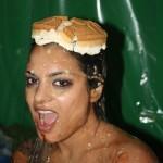 Jade Newman wears a Pie