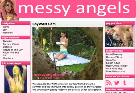Messy Angel